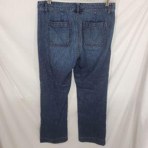 LOFT Jeans - Ann Taylor Loft Curvy Wide Leg Jeans
